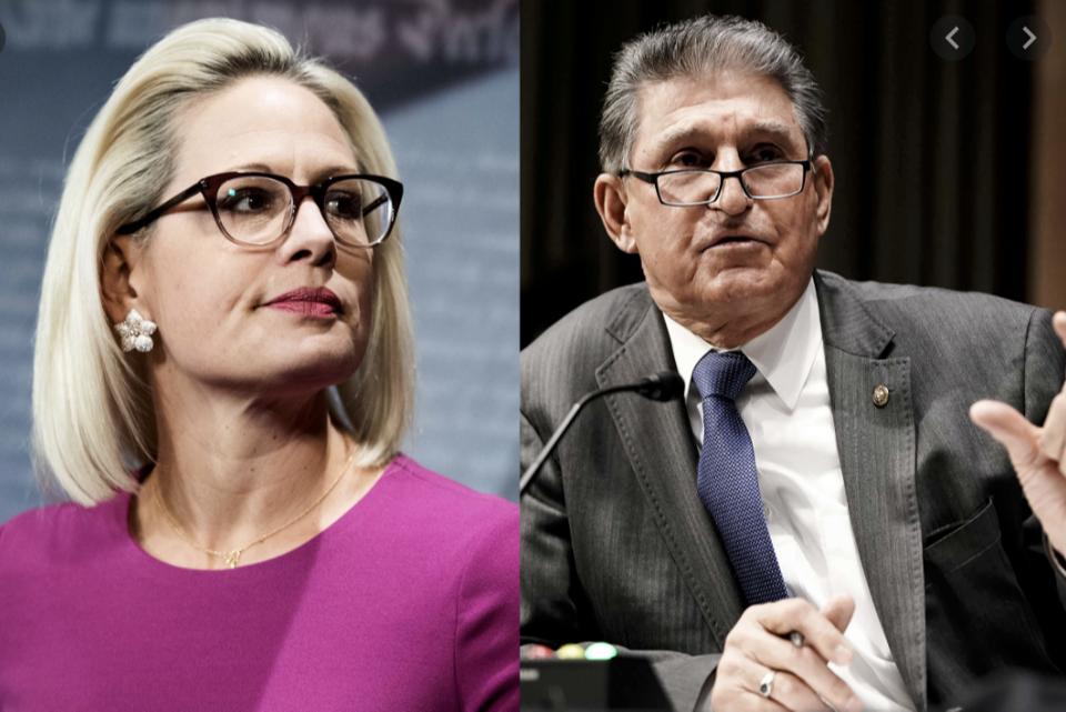 Key Filibuster Voters: Senators Sinema and Manchin