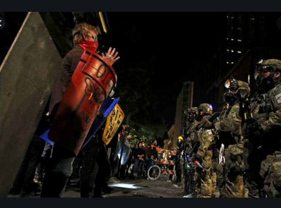 Protestors and federal agents clash in Portland, Ore. this week