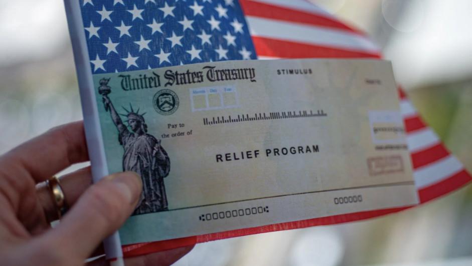 The stimulus checks are en route