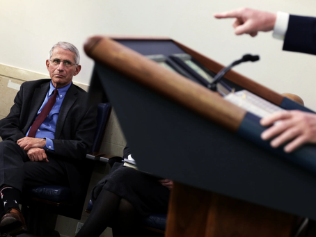 Trump Accuses Fauci of Using Fifty Years of Experience as Doctor to Win People's Trust