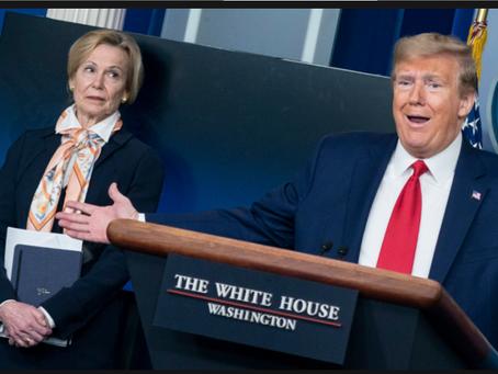 Washington Whispers: Trump's COVID Follies