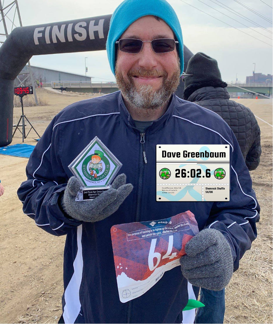 Victory! On March, 2019, I ran my first and best 5K. I placed second in my age group, which wasn't bad.