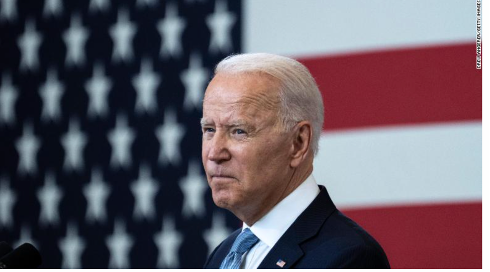 """Last week, Biden again urged Americans to get vaccinated: """"People are dying, and will die, who don't have to die."""""""