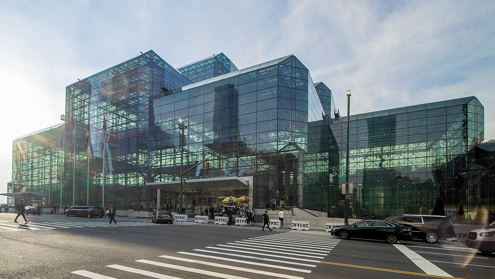 The Javits Center is one of the country's busiest convention venues