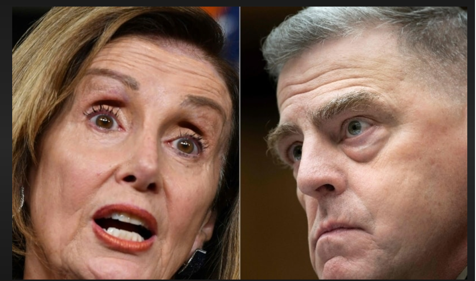 Playing Telephone: Speaker Pelosi pulled no punches in her tense phone discussion with General Milley when it came to reining in Donald Trump