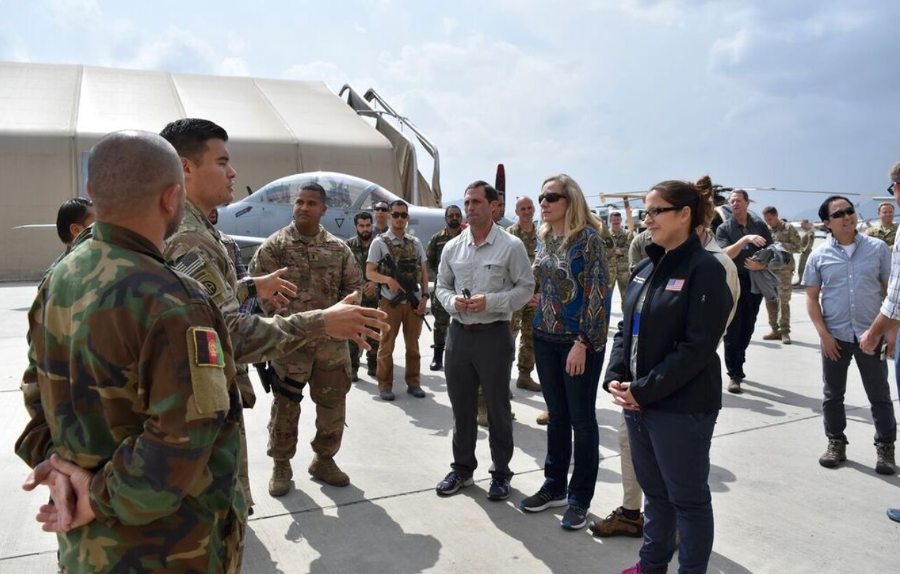 Rep. Crow on a recent fact-finding trip to Afghanistan