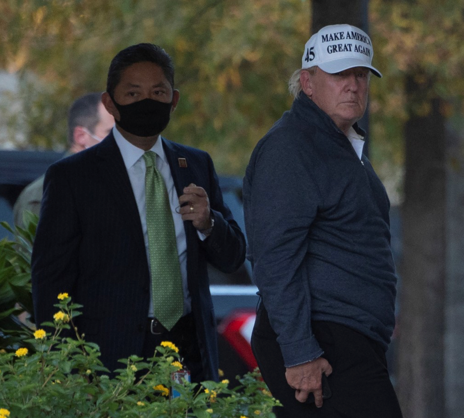 Donald Trump in the Rough