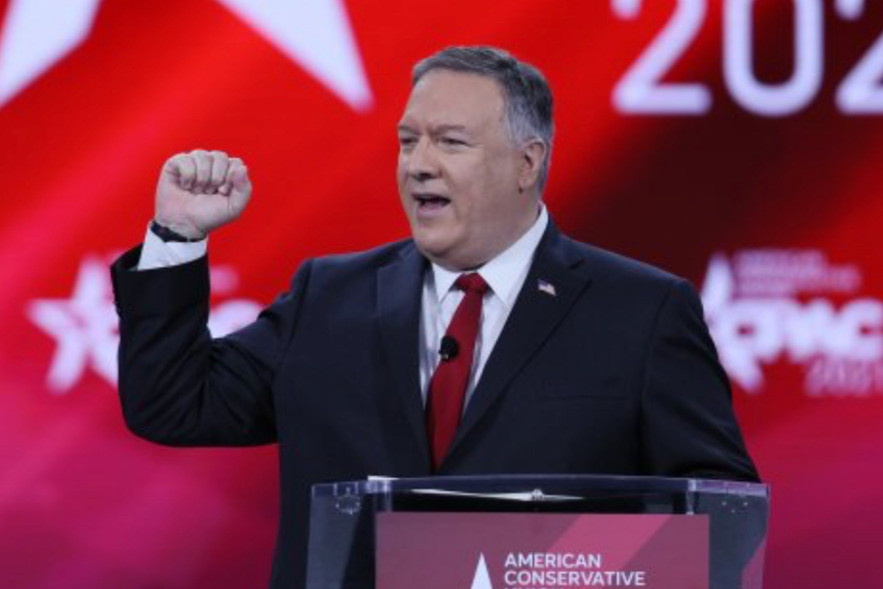 Pompeo has adopted a belligerent posture as a campaign warrior