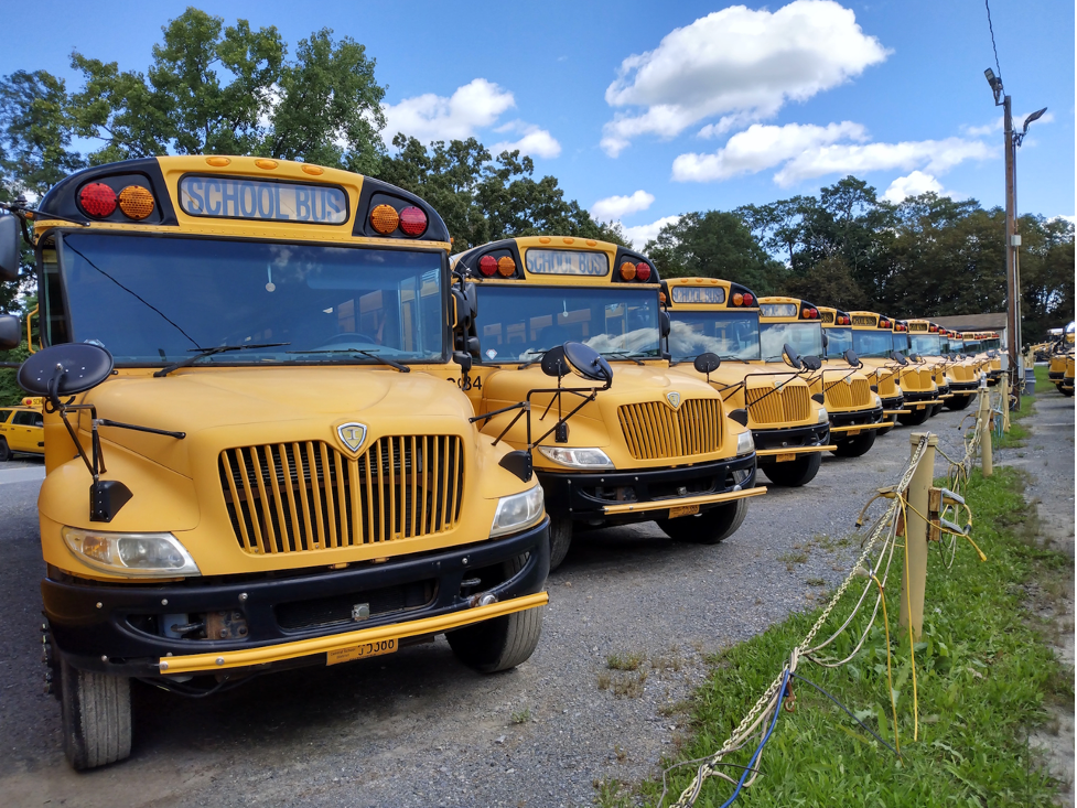 There's no shortage of school buses, but they don't drive themselves