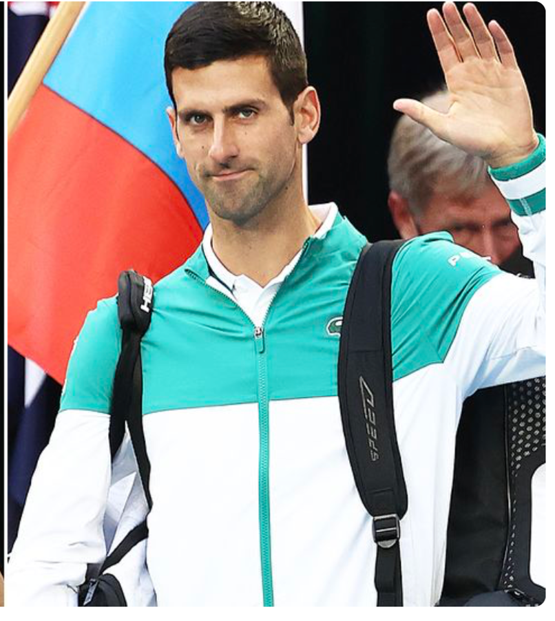 Tennis star Novak Djokovic caused an uproar by appearing at the Australian Open last week without a mask