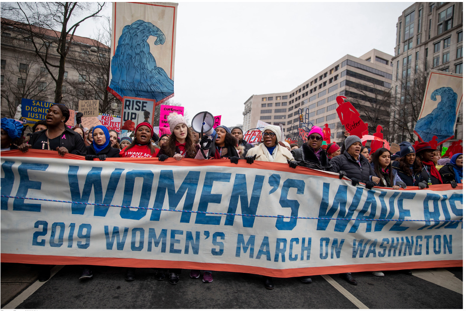 The Women's March was the first manifestation of protests that later included worldwide Black Lives Matter marches