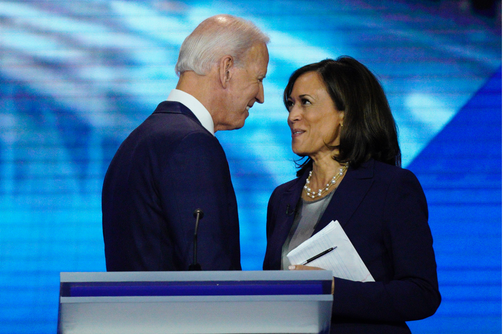 The Dream Team: A new partnership, but Biden and Harris are already in sync