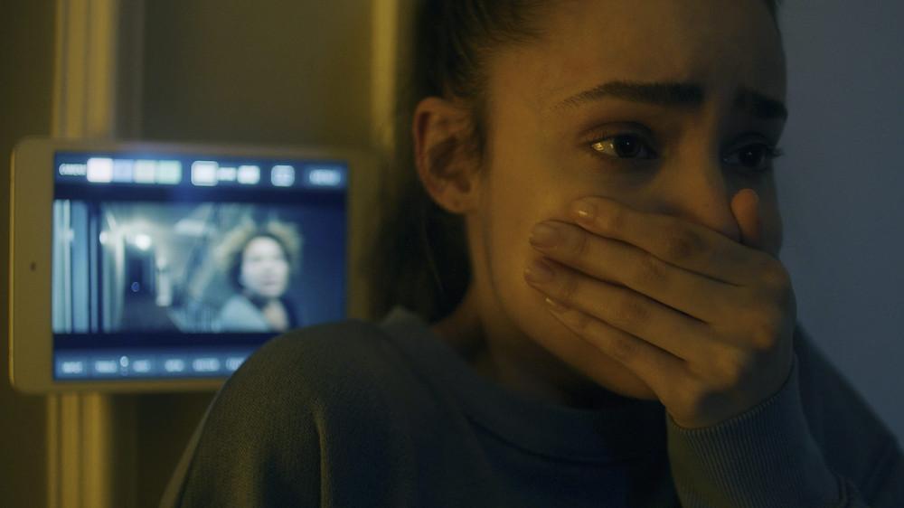 Sofia Carson in Songbird (2020)