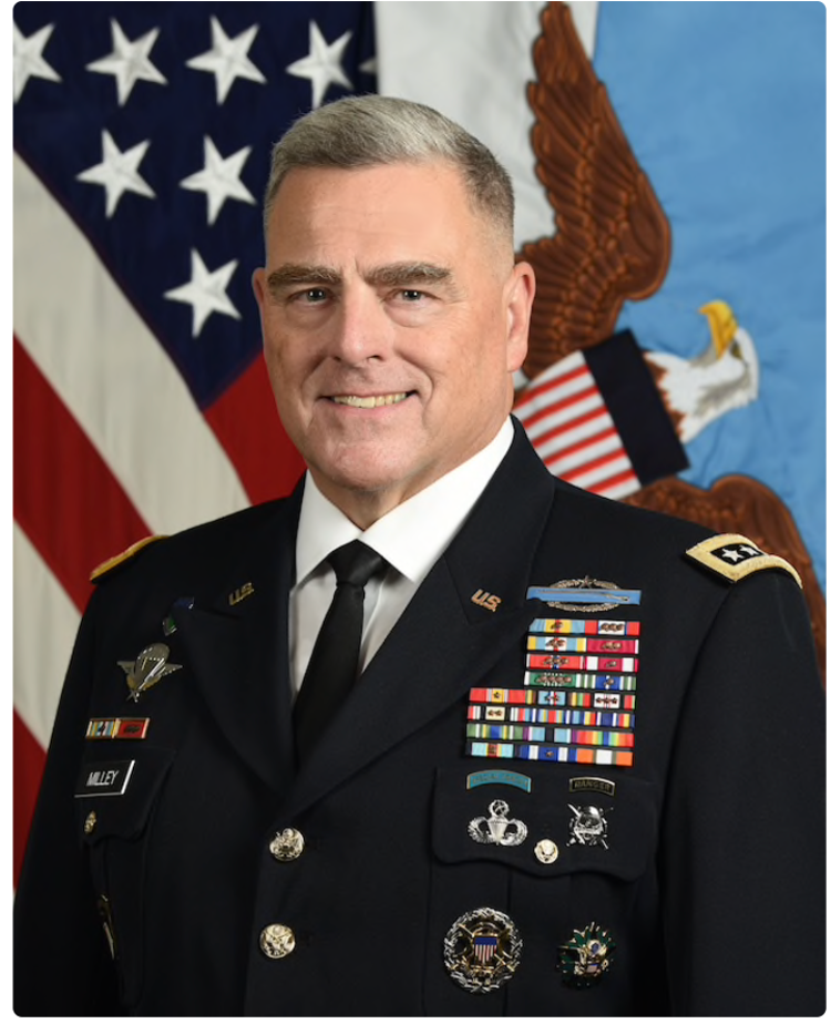 Hero or Heel? Opinions about the actions by Chairman of the Joint Chiefs of Staff General Mark Milley tend to divide along party lines
