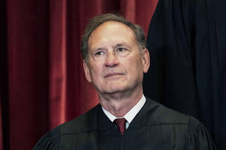 An angry Justice Alito lashed out at the media in a defensive speech at Notre Dame