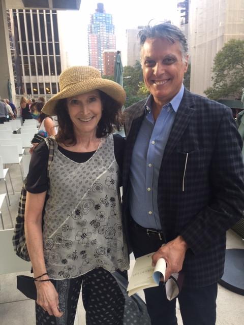 Robert Cuccioli and Naomi Serviss
