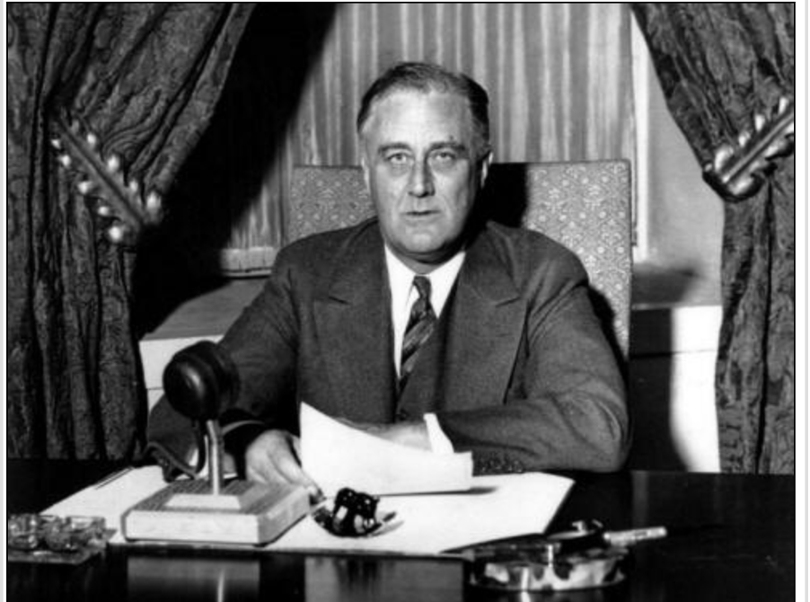 FDR's first Fireside Chat was delivered on March 12, 1933…