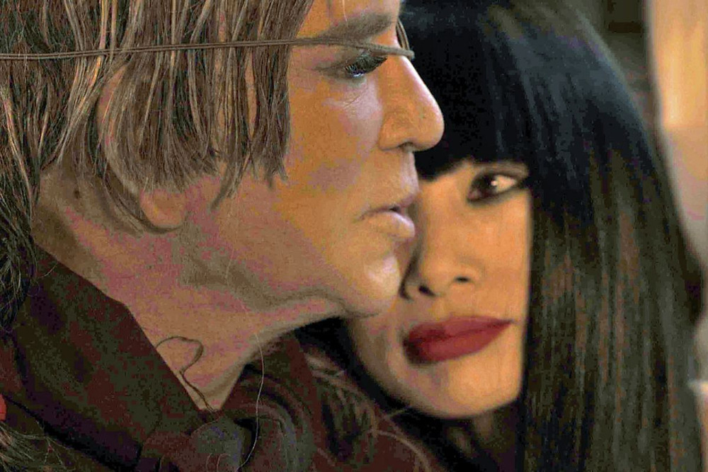 The Legion (2020) starring Mickey Rourke and Bai Ling. We never heard of it, either