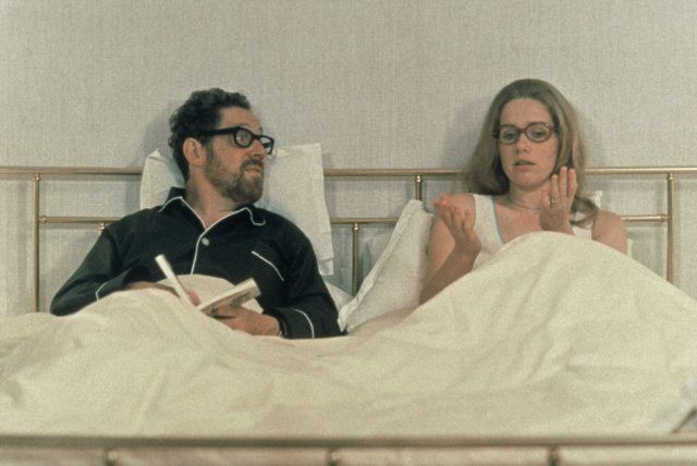 Liv Ullmann and Erland Josephson in Scenes from a Marriage (1973)