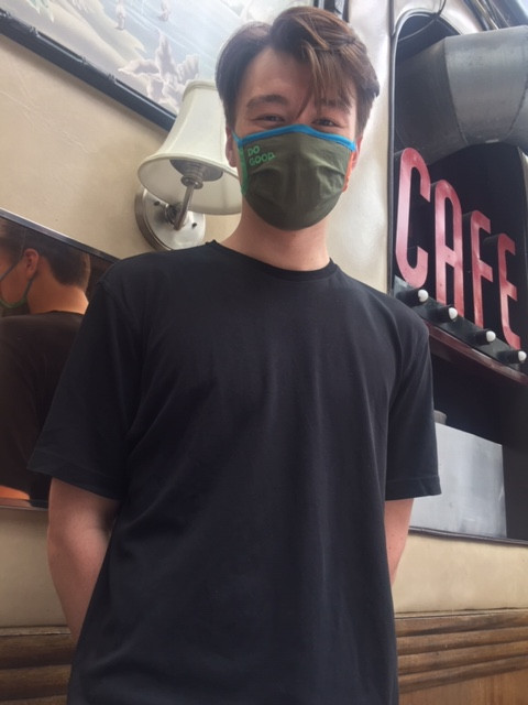 Koji, our final waiter
