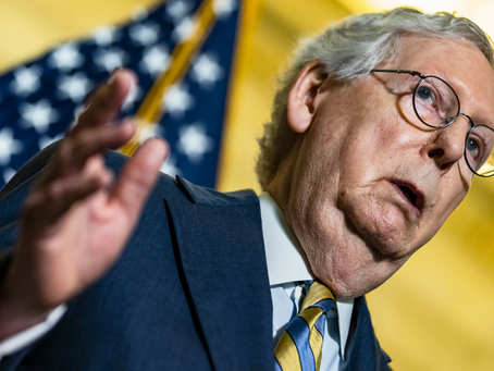 Mitch McConnell Warns That Voting Bill Would Bring U.S. to Brink of Democracy