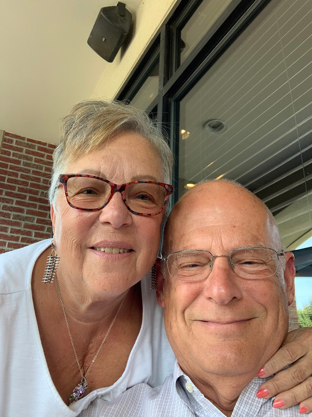Susie and Jim Silverman, going strong after 55 years