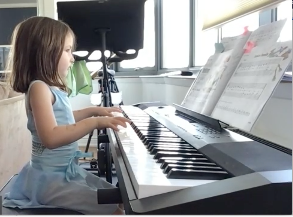 Rhapsody in Blue: Willa at her recital