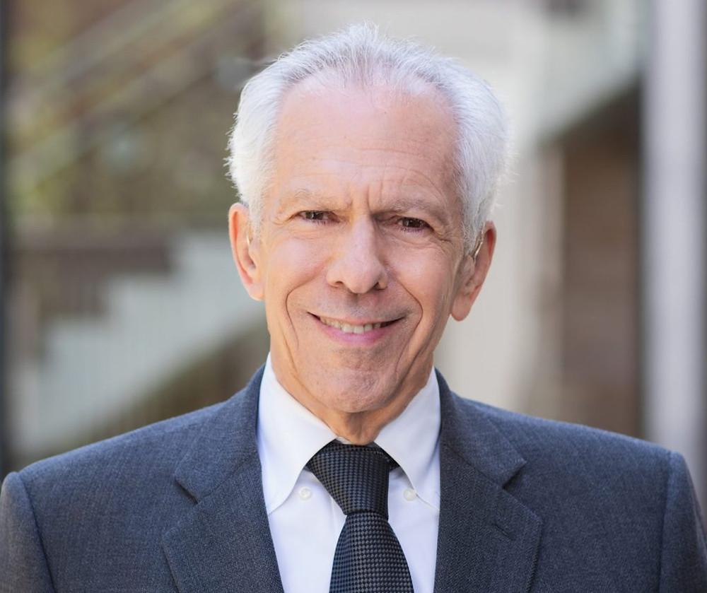 Henry Gornbein, founder of the popular website Gracefully Greying