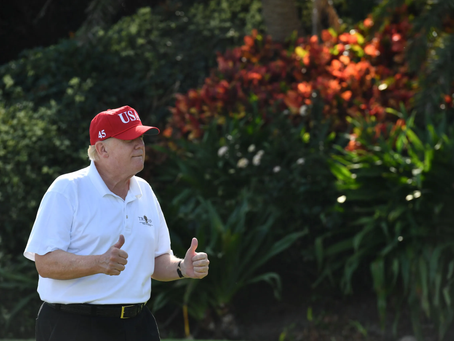 Neighbors See Trump Waiting by Mailbox for Reinstatement Notice