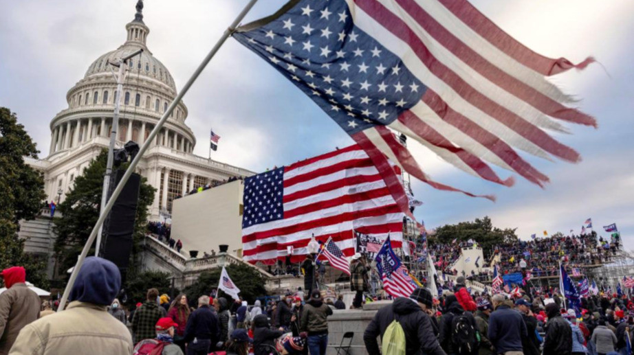 The uprising at the Capitol on January 6, 2021