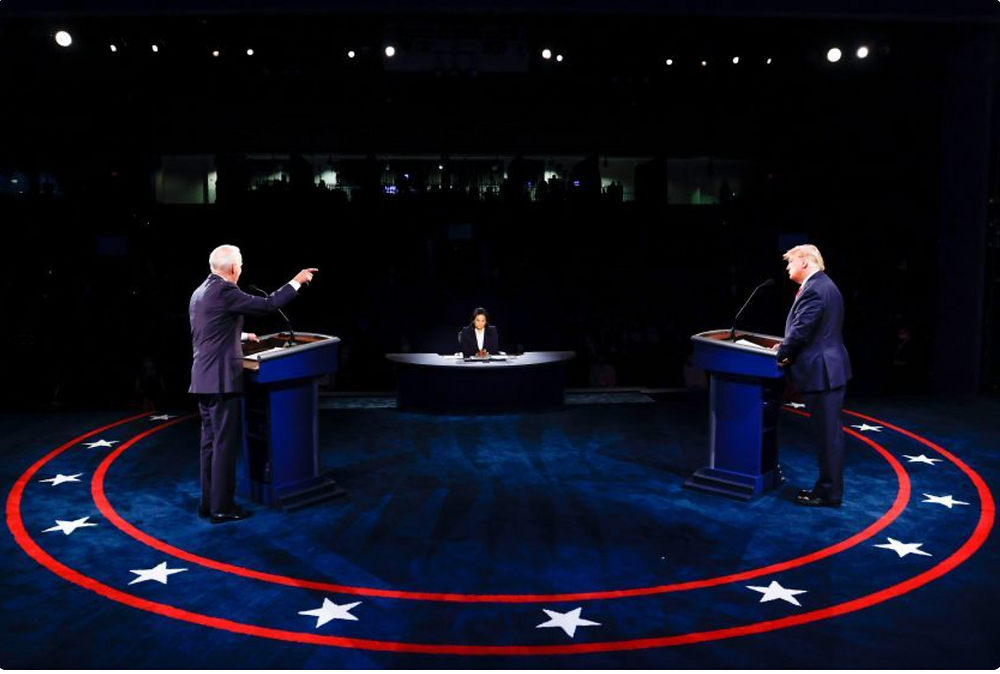 Biden and Trump squared off in Nashville on Thusday for the final debate