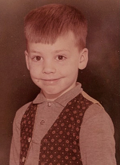 Age 5: A department store cut.