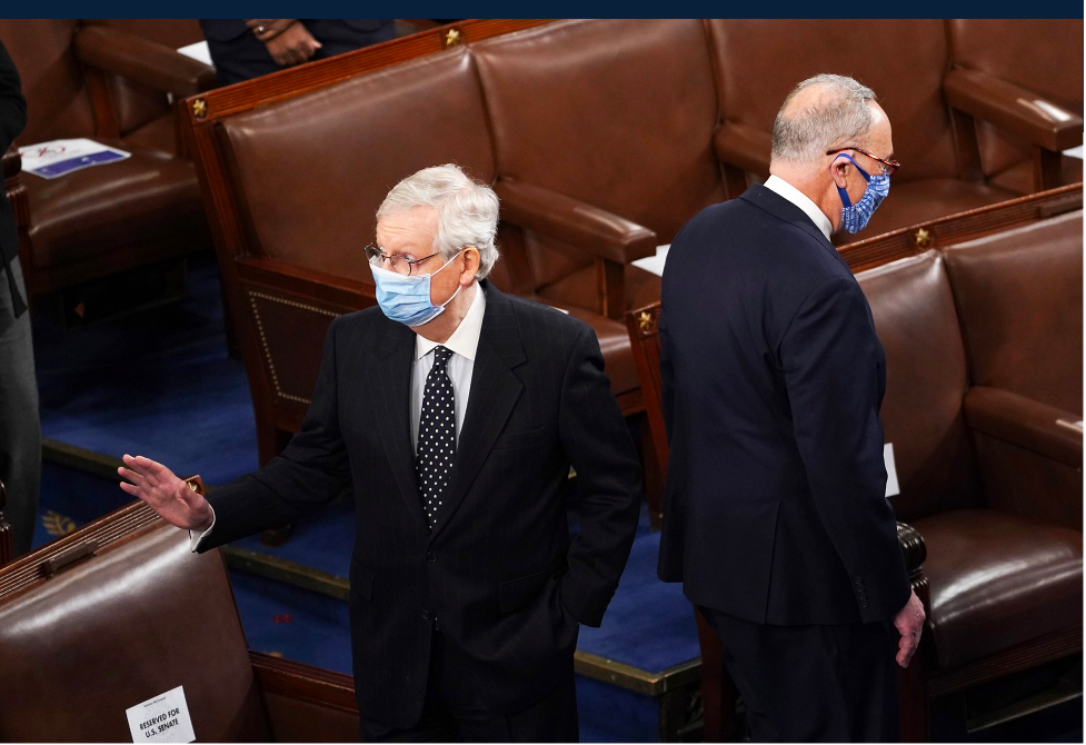 Two Roads Diverge: Senate Leaders Mitch McConnell and Chuck Schumer