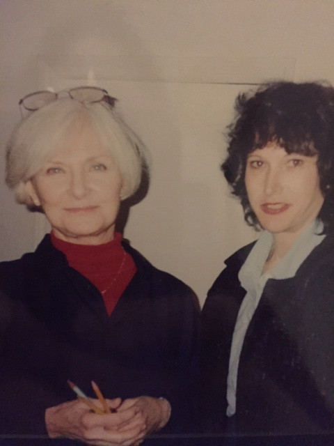 Joanne Woodward and the author at The Actors Studio