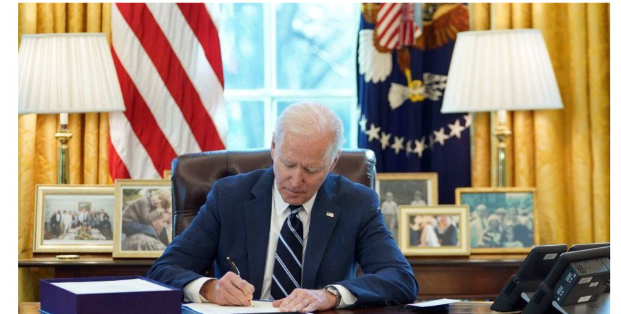 The parallels drawn between Biden's signing of the Stimulus Package and FDR's First 100 Days were unavoidable