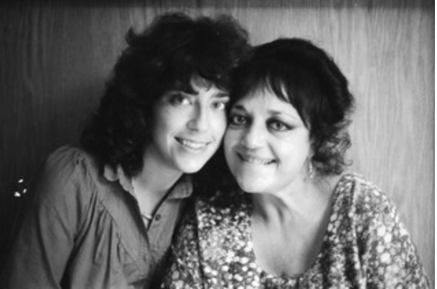 Shelly and Dorothy Broder, 1982