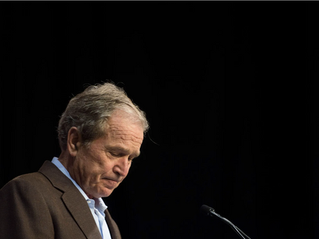 """Trump Calls Bush Ungrateful: """"I Kept Him from Being the Worst President in History"""""""