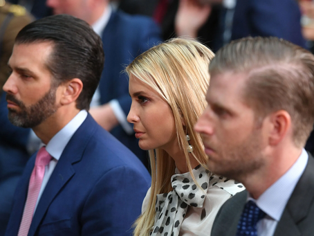 Trump Regrets Not Naming Ivanka, Eric, and Don, Jr., to Supreme Court