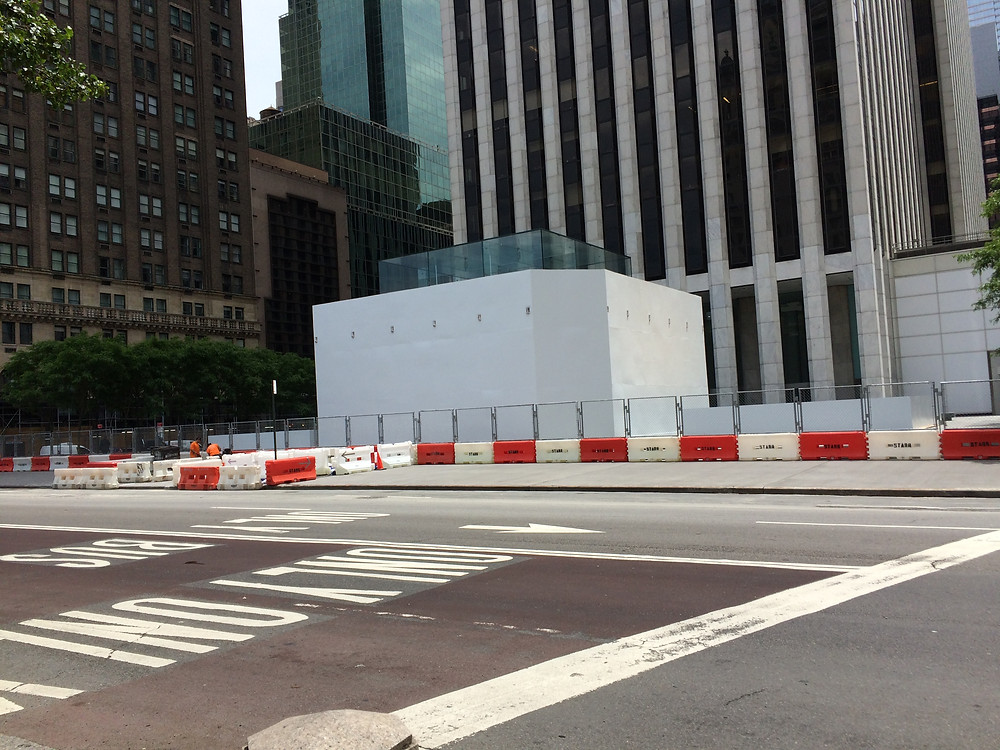 The Apple Store on 5th Avenue