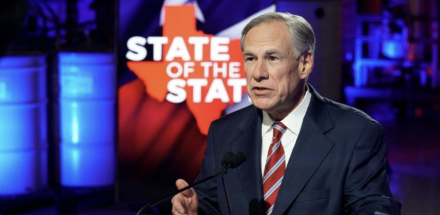 Texas Governor Greg Abbott ordered a rollback of most Covid regulations in his state