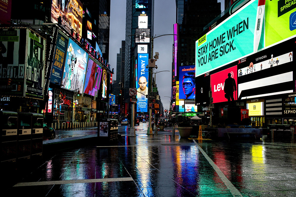 No New Year's Eve celebrants in Times Square this year