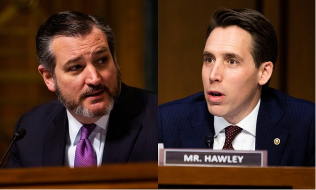Toxic Ambition: Senators Cruz and Hawley