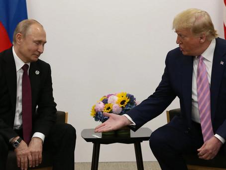 Putin Says He Has No Intention of Reinstating Trump