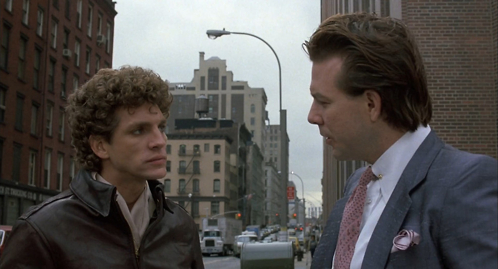 Eric Roberts and Mickey Rourke in The Pope of Greenwich Village (1984)