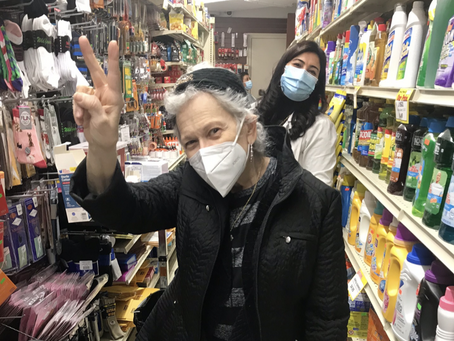 I Was Vaccinated in the Detergent Aisle at the Wellness Pharmacy!