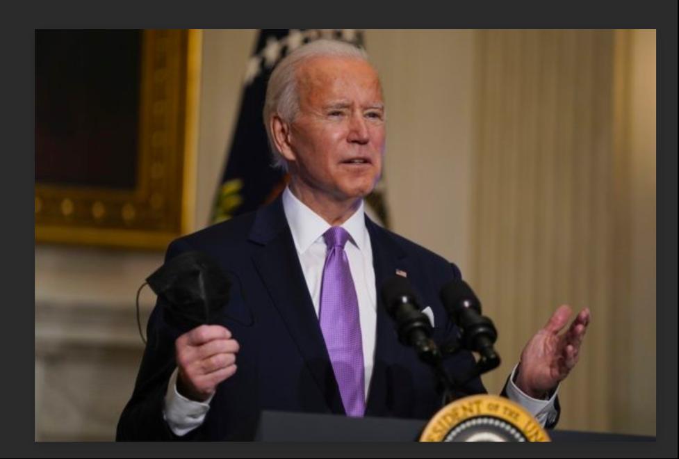 Joe Biden: The calm after the storm