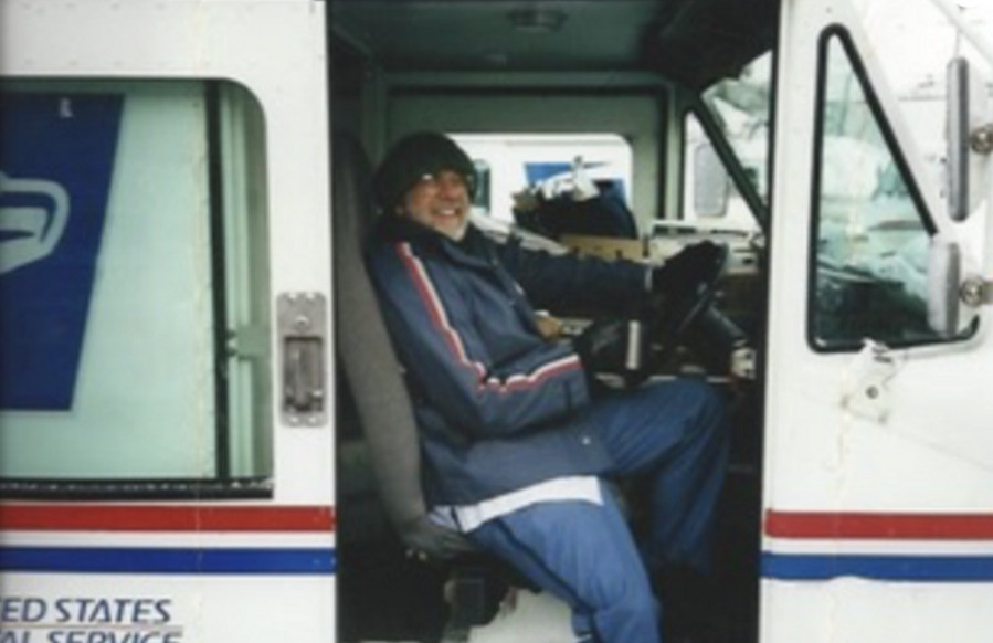 Weinner on the job in the early 1990s