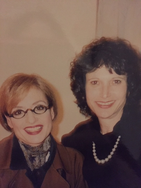 Patti LuPone and the author