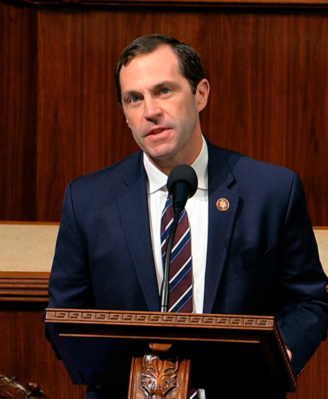 Democratic Congressman Jason Crow of Colorado