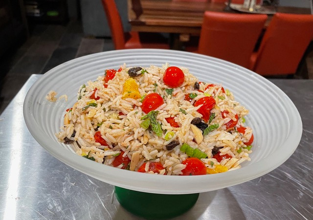 Cherry Tomato Rice Salad